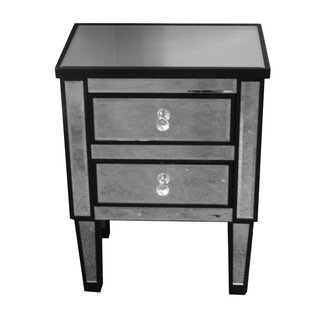 Jahnke Gl Corner End Table With Storage