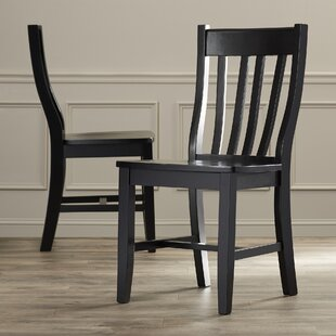Toby Traditional Solid Wood Dining Chair (Set of 2)