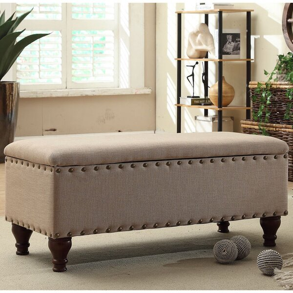 High Quality Three Posts Lattimer Upholstered Storage Bench U0026 Reviews | Wayfair