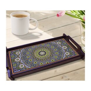 Moroccan Inspiration Wooden Tray