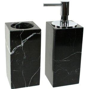 Black Leather Bathroom Accessories Wayfair