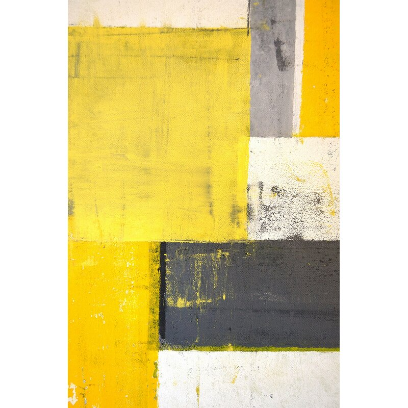 Marmont Hill 'Fragmentation' Painting Print on Wrapped Canvas