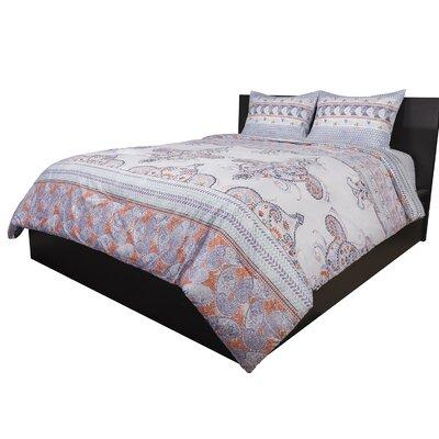Bloomsbury Market Moncada 3 Piece Reversible Comforter Set  Size: Full/Queen
