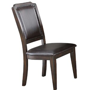 Keshia Cushioned Upholstered Dining Chair..