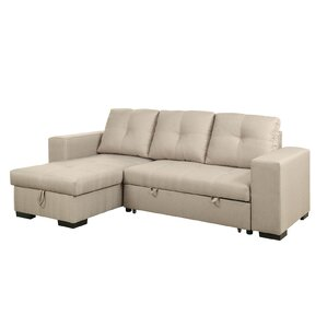 Sleeper Sectional  sc 1 st  AllModern : leather sleeper sectional - Sectionals, Sofas & Couches