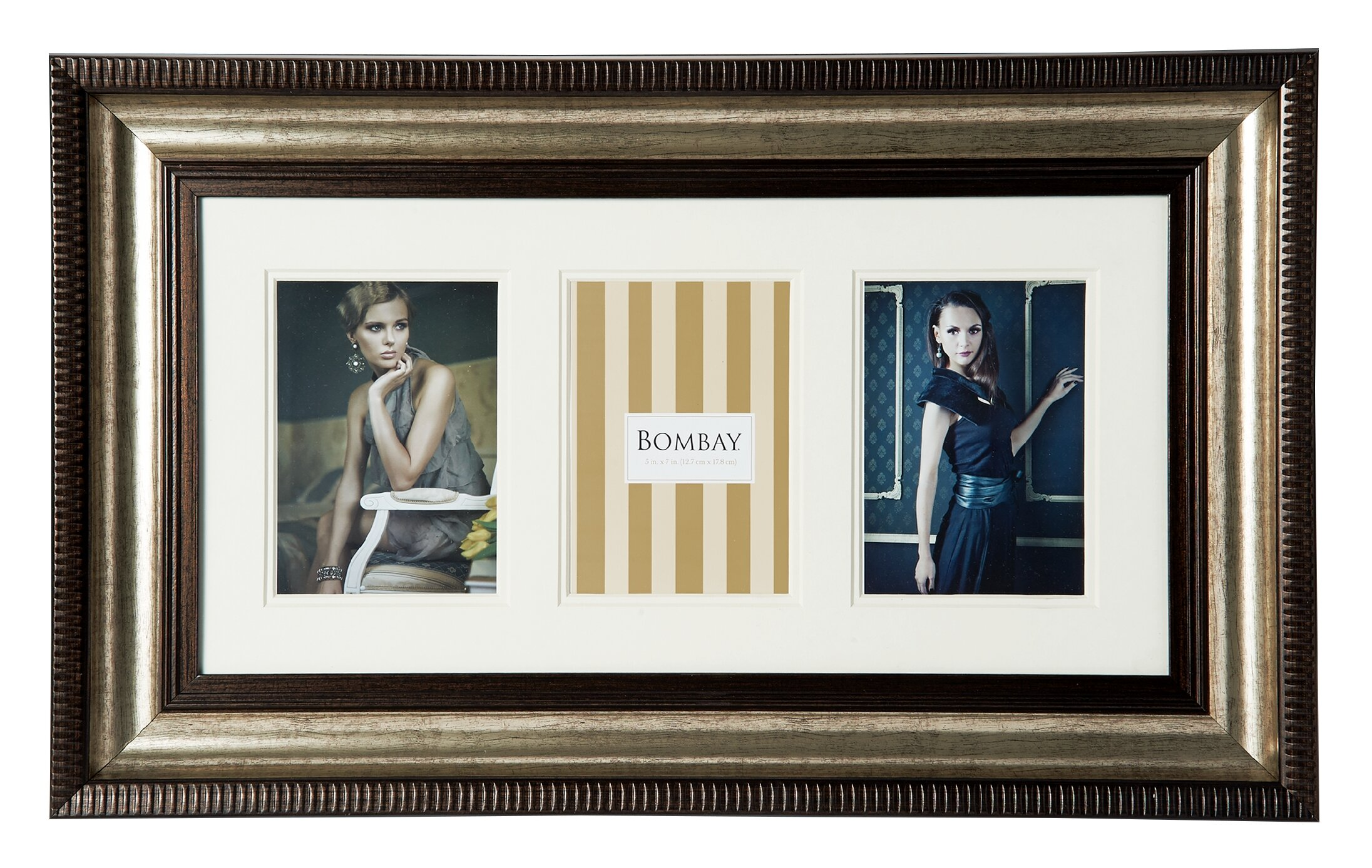 Bombay 3 Opening Collage Picture Frame & Reviews | Wayfair