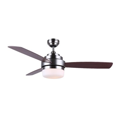 "52"" 3 Blade Ceiling Fan With Remote Black + Decker"