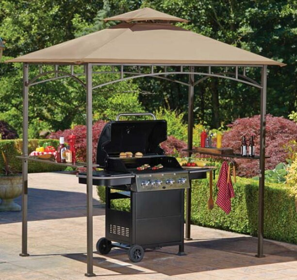 Replacement Canopy for Grill Gazebo & Sunjoy Replacement Canopy for Grill Gazebo u0026 Reviews | Wayfair