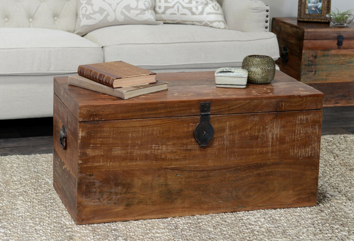 Decorative trunks youll love wayfair bali storage chest geotapseo Choice Image