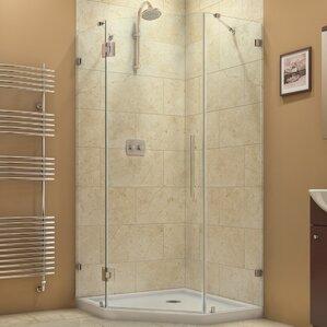 Shower Stalls   Enclosures You ll Love   Wayfair. Large Corner Shower Enclosures. Home Design Ideas