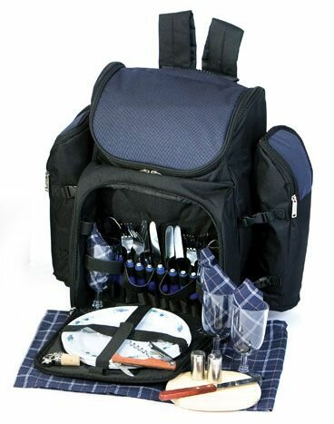 5ed1e380f3 Picnic Plus by Spectrum Tandoor 4 Person Deluxe Picnic Backpack ...