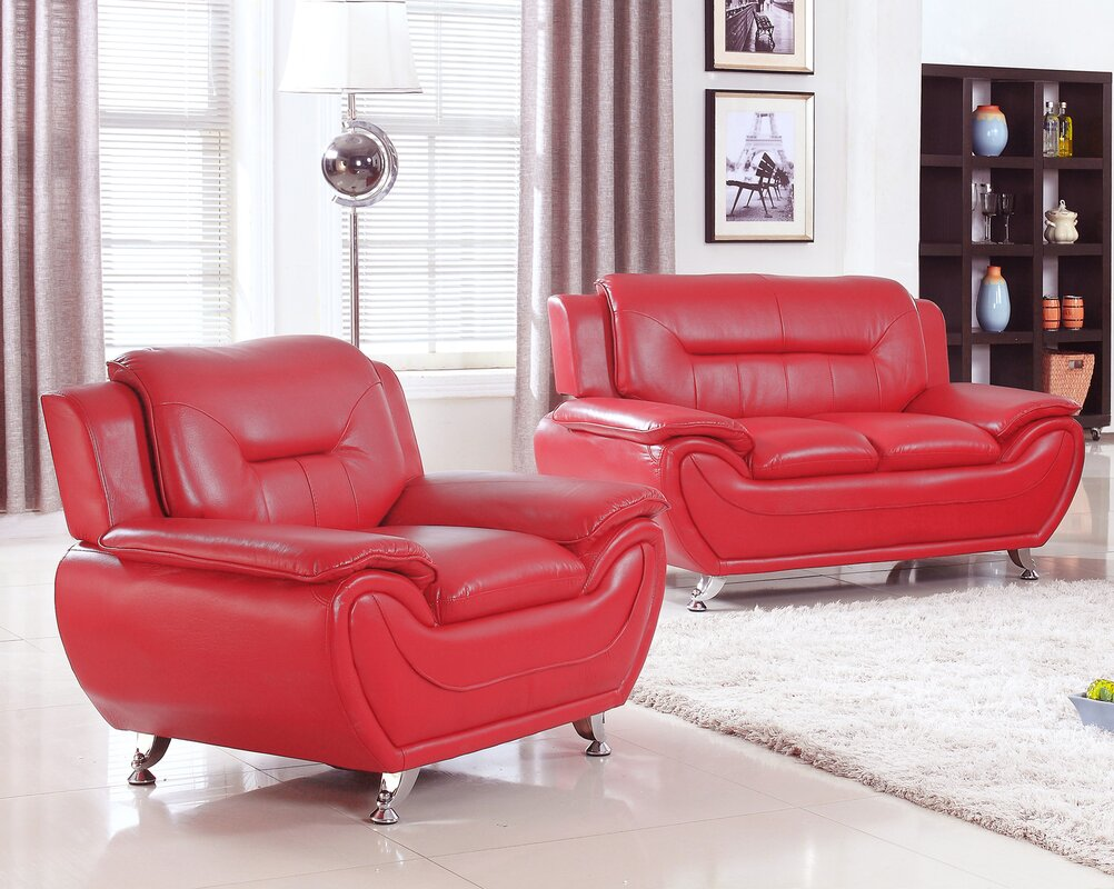 Amazing Sather 2 Piece Living Room Set