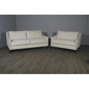 Nice Woodell Suede Sofa