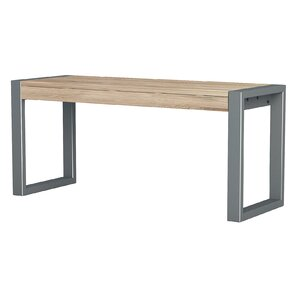 Metal/Wood Bench by Asta Furniture, Inc.