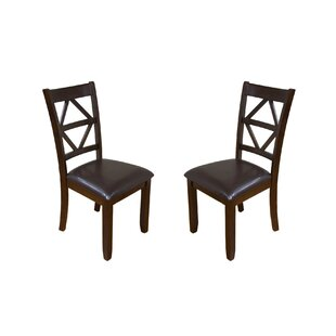 Annora Designer Solid Wood Dining Chair (Set Of 2) Best