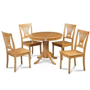 Cedarville 5 Piece Solid Wood Dining Set