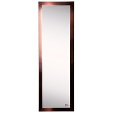 Wall Mounted Full Length Mirror modern wall mounted floor + full length mirrors | allmodern