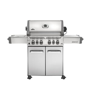 Prestige 6-Burner Gas Grill with Cabinet