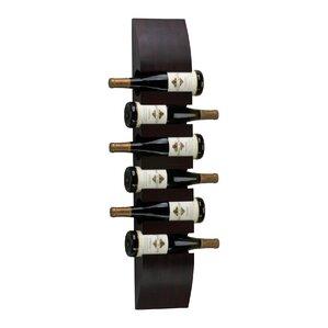 6 Bottle Wall Mounted Wine Rack by Cyan Design