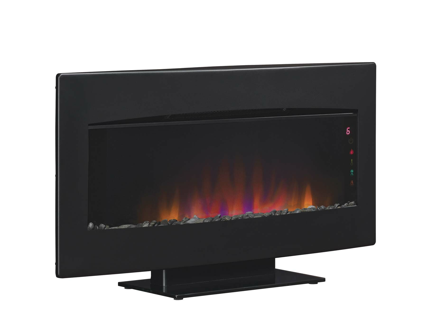 Classic Flame Wall Hanging Serendipity Fire Display With Heater
