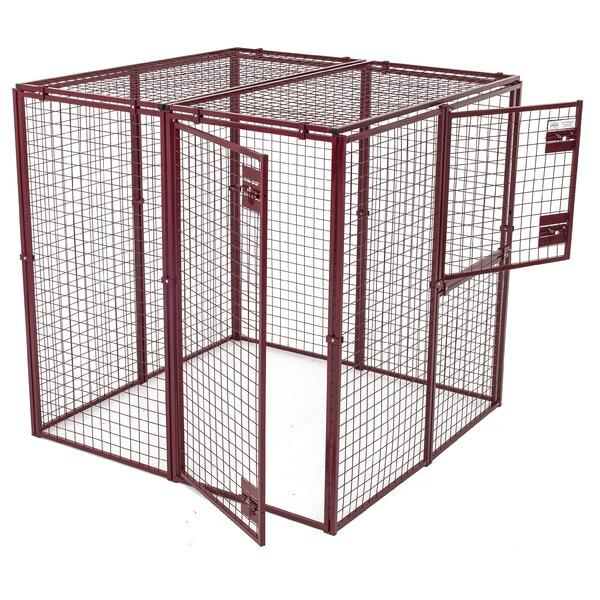 Animal House Heavy Duty Flat Covered Animal Pen/Cage | Wayfair