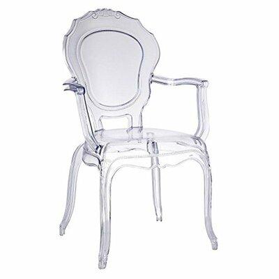 Koenig Dining Chair  sc 1 st  Wayfair & Calligaris Parisienne Patio Dining Chair u0026 Reviews | Wayfair