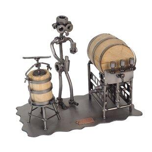 Taster Sculpture 1 Bottle Tabletop Wine Rack