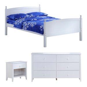 Zest Full Panel Configurable Bedroom Set