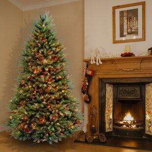 7 Foot Pre Lit Christmas Trees Youll Love Wayfair