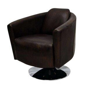Bakersfield Swivel Barrel Chair by Latitude Run
