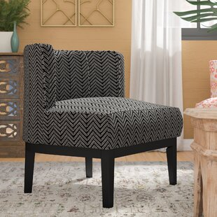 Blondene Herringbone Low Back Barrel Chair