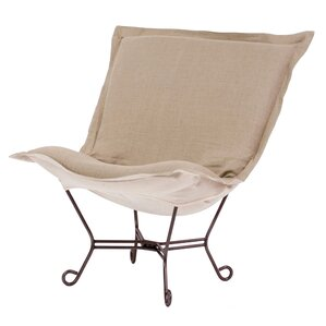 Azaria Scroll Lounge Chair by Red Barrel Stu..