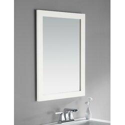 Bathroom Vanities And Mirrors simpli home cape cod bath vanity mirror & reviews | wayfair