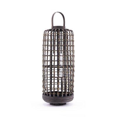 "Bamboo Lantern Coaster Nj-08810-2516 Size: 28.5"" H X 9.8"" W X 9.8"" D"