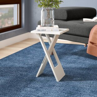 Cross Leg Base Small End Tables You Ll Love In 2019 Wayfair