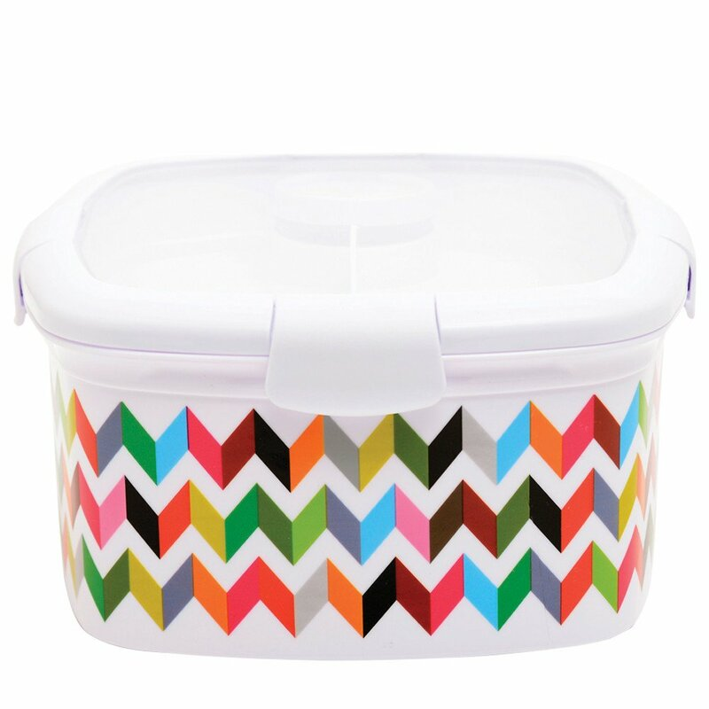 French Bull Ziggy Deluxe 2 Container Food Storage Container