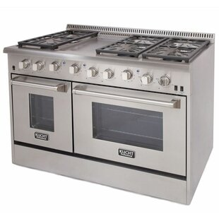 Professional 48 Free Standing Gas Range With Griddle