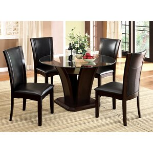 Upton 5 Piece Dining Set by Hokku Designs