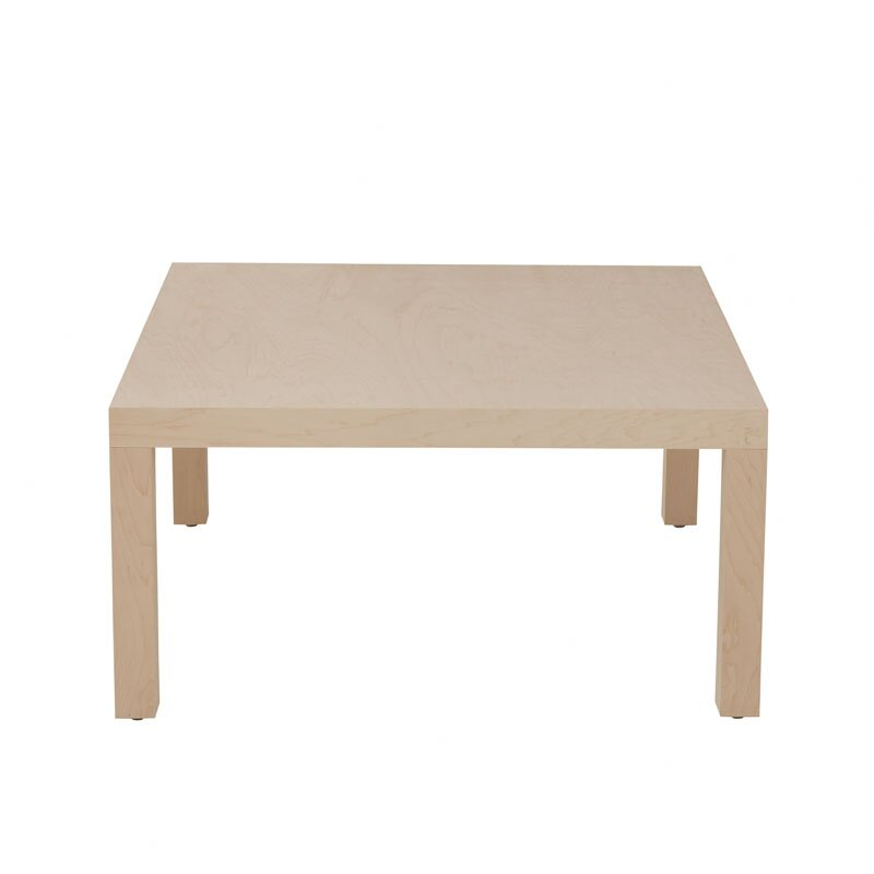 Charming Parsons Coffee Table