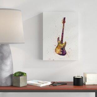 Bass Guitar Wall Art Wayfair