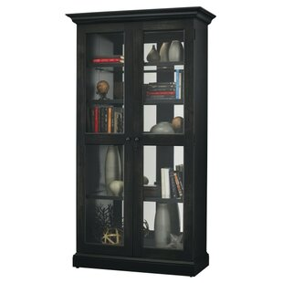 Breland Lighted Curio Cabinet