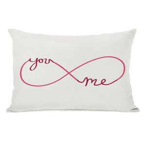 Infinite You Me Lumbar Pillow