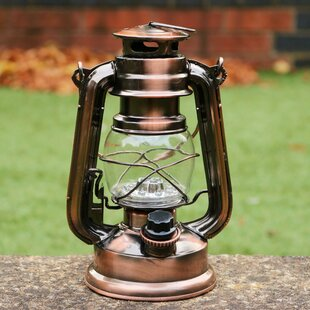 Vintage Large Hurricane Storm Lamp With Glass And Wick. Antiques