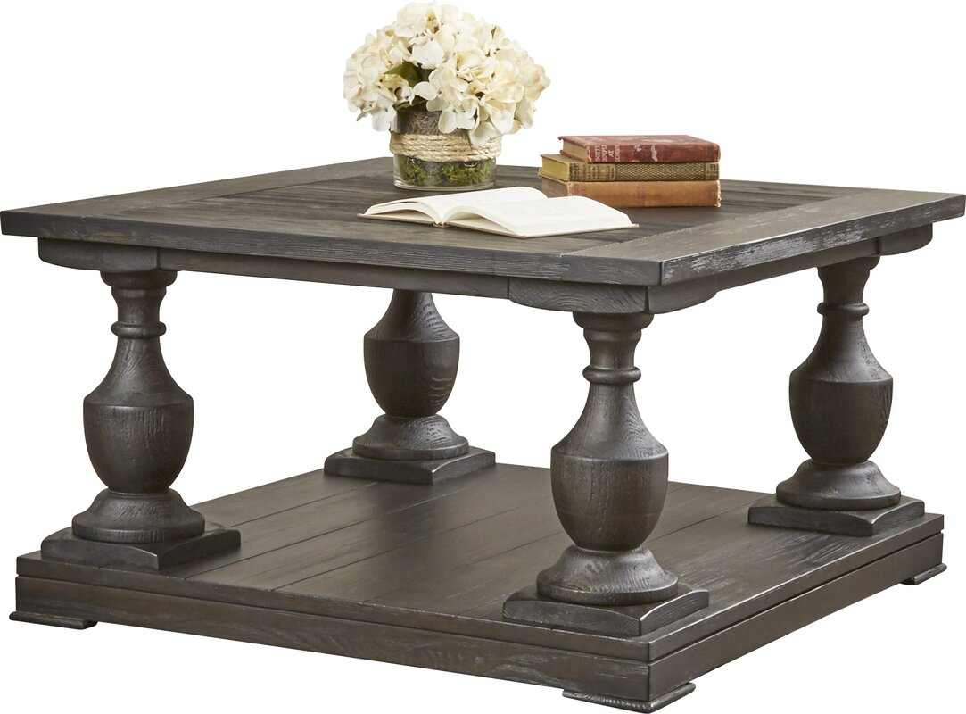 Square coffee tables youll love wayfair travis coffee table geotapseo Choice Image