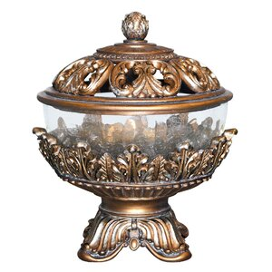 Royal Victorian Jewelry Box Decorative Jar