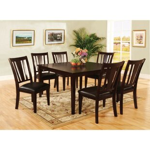 Moody Transitional Counter Height 7 Piece Pub Table Set