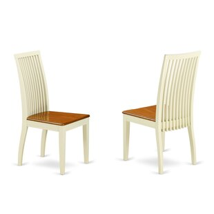 Gladney Solid Wood Dining Chair (Set of 2)