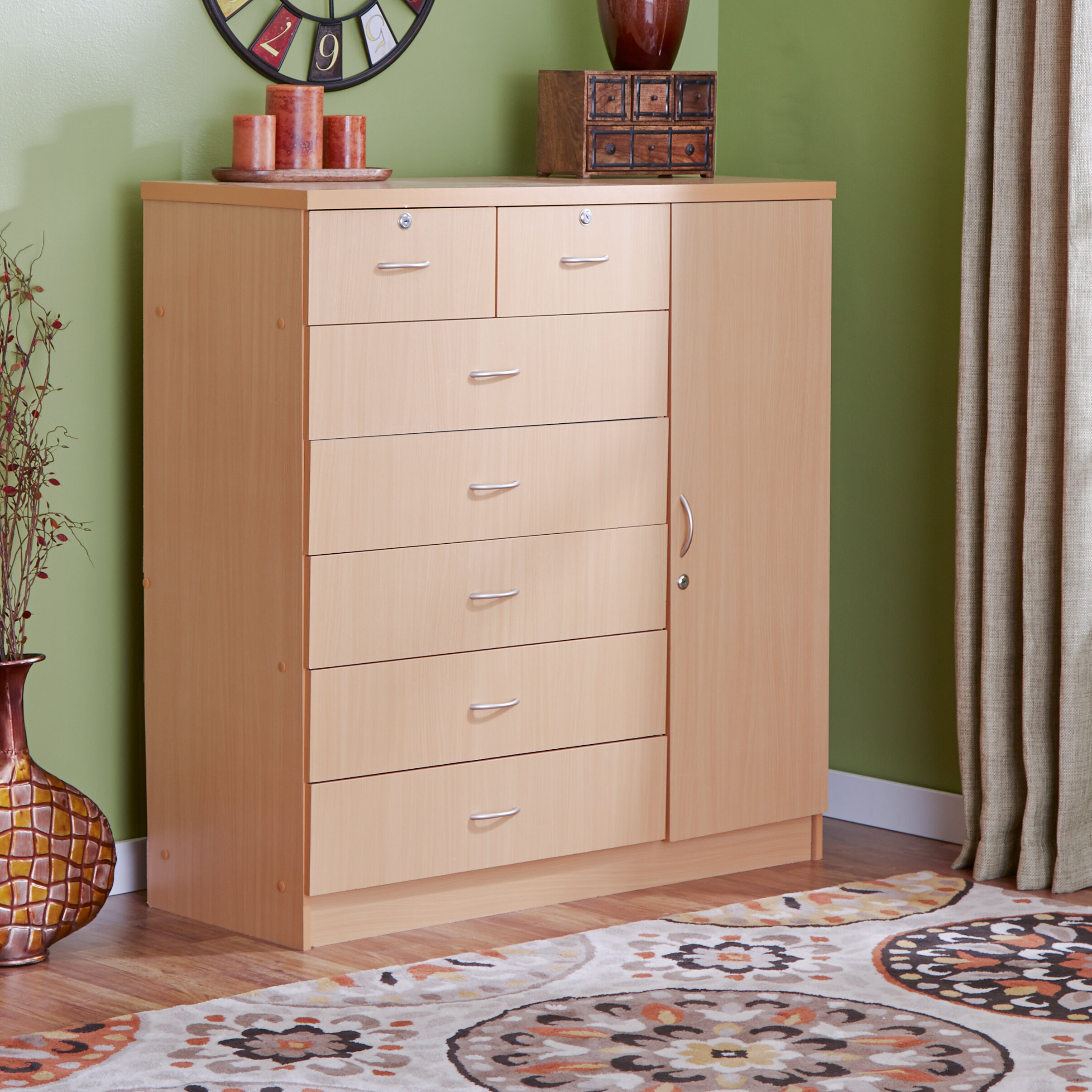 Extra Large Bedroom Dressers   Wayfair