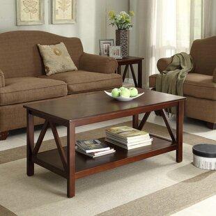 Charmant Brassiewood 2 Piece Coffee Table Set
