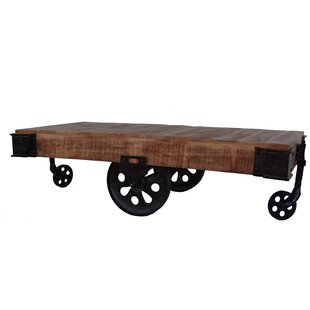 Railroad Cart Coffee Table | Wayfair